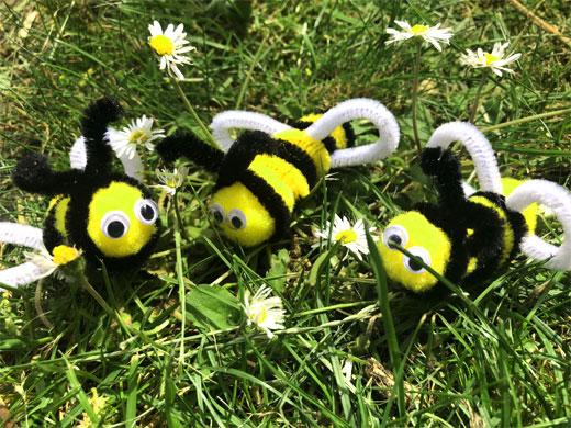 пчелки синель
