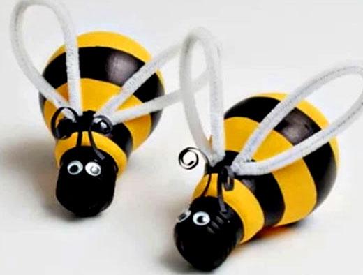 пчелки из лампочек