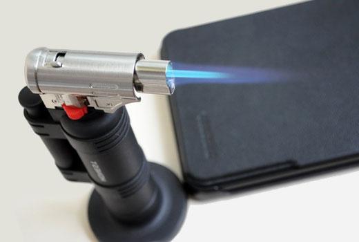 как использовать газовую горелку