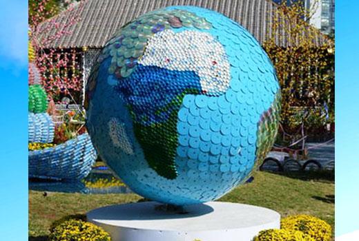 земной шар из дисков