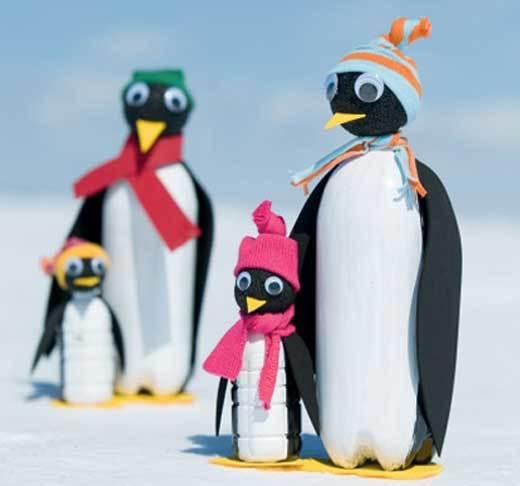 пингвины для альпийской горки