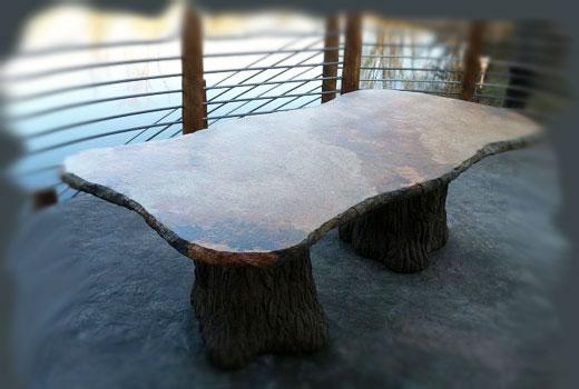 столешница из бетона