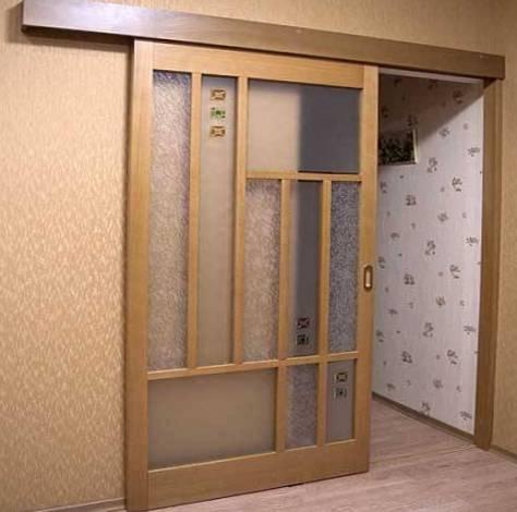межкомнатная дверь-купе