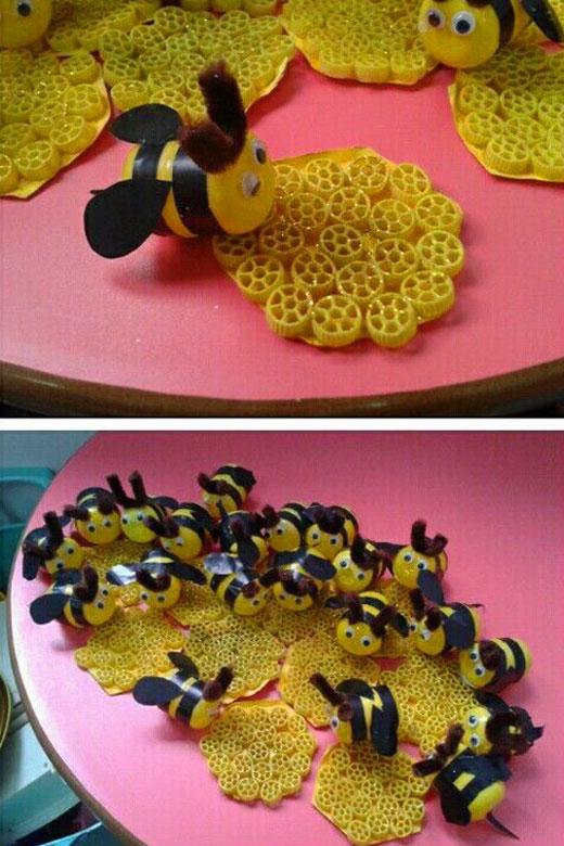 пчелки и соты