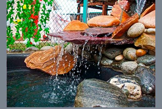 фонтан без насоса