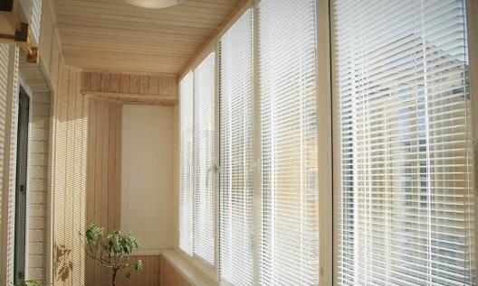 окно со встроенными жалюзи