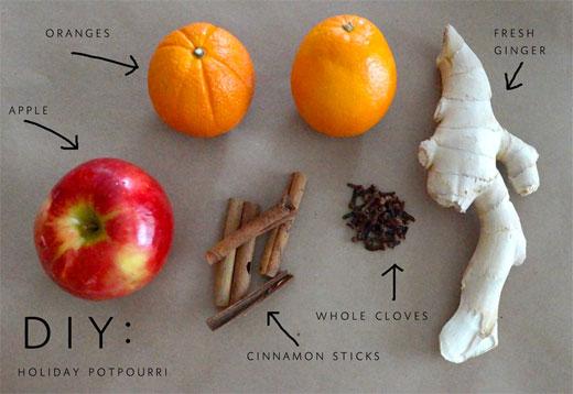 яблоки и имбирь запах