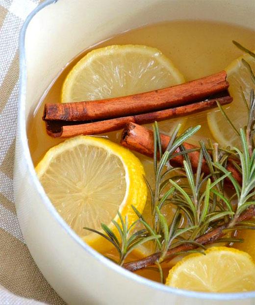 Лимон и розмарин запах
