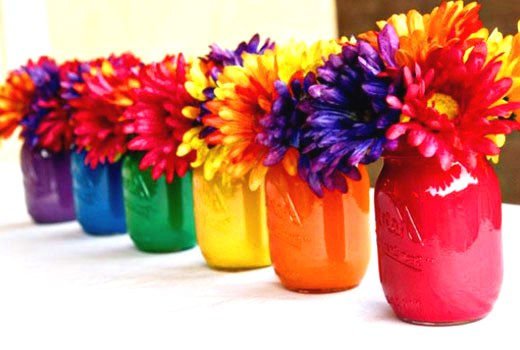 вазочки из банок