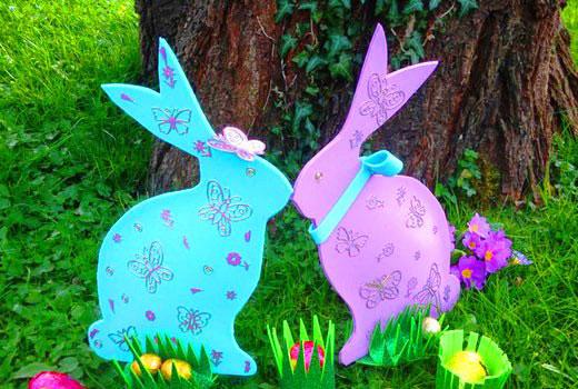 кролики из фанеры
