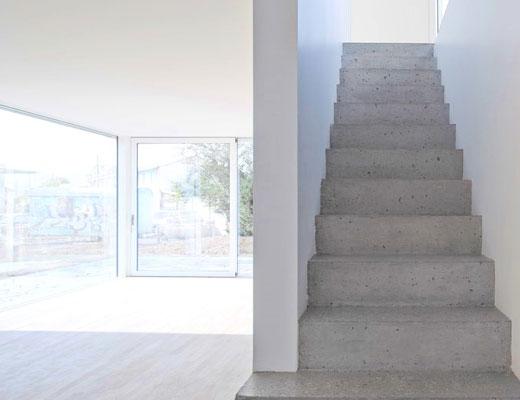 как отремонтировать бетонную лестницу