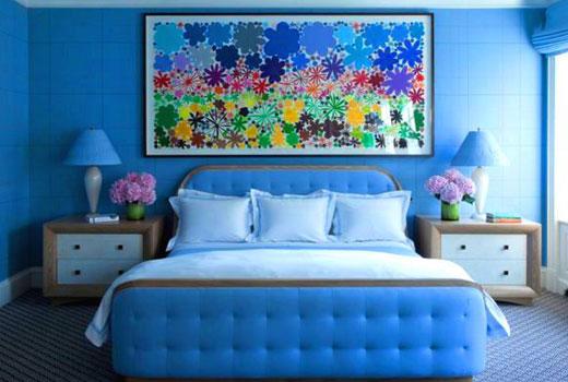 голубая спалоьня