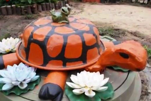 садовая черепаха