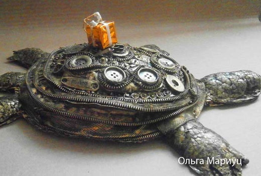 черепаха стимпанк