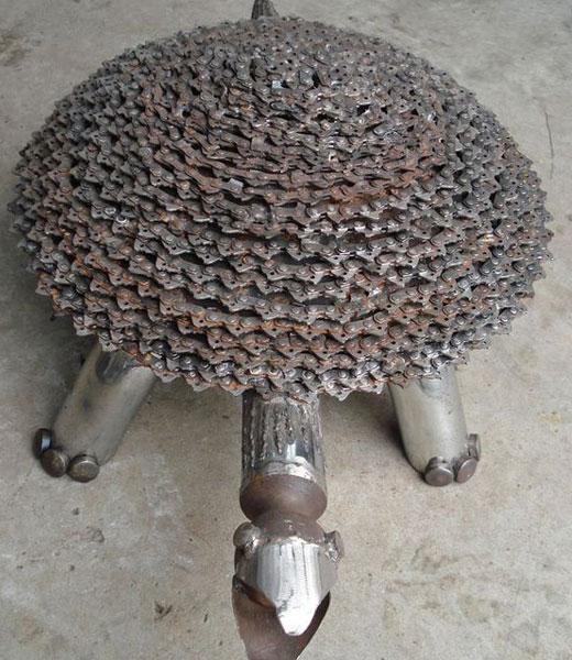 черепаха из цепи