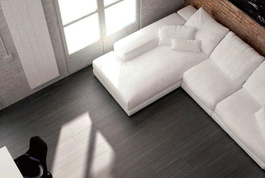черно-белый интерьер в спальне