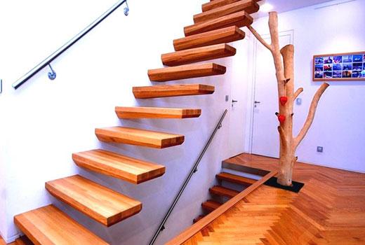 лестница дерево