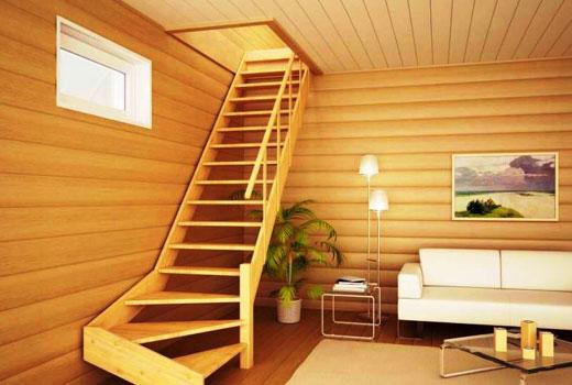 лестница дерево1