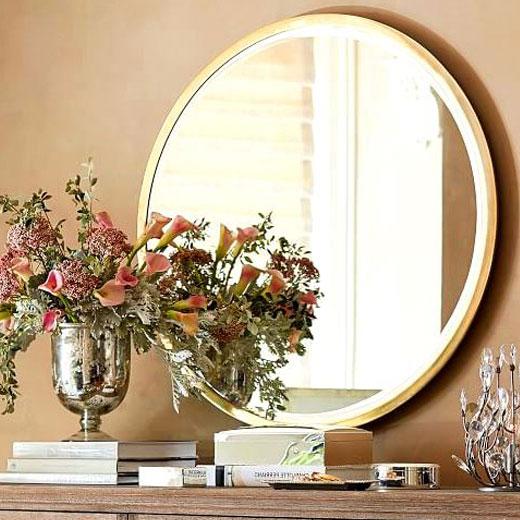 сезонный декор зеркало