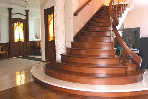 лестница дерево4