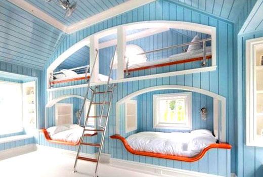 кровати для многодетной семьи