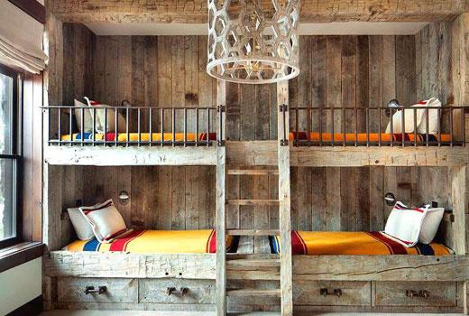 детская встроенные кровати