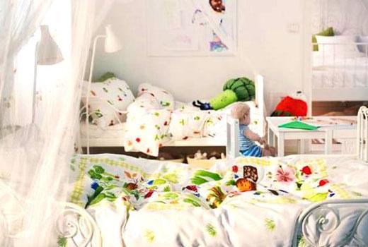 Спальны для разновозрастных детей