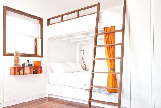 удобная кровать для детской