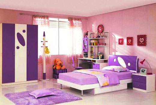 Детская комната лаванда