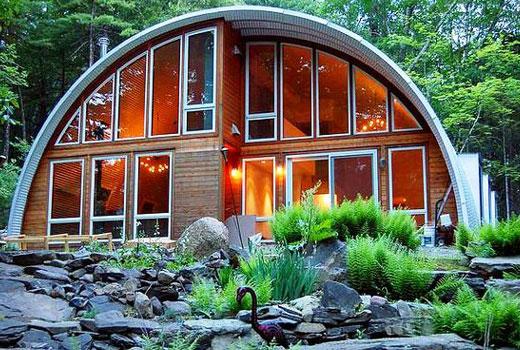 дом арка 2 уровня