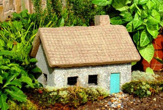 домик из цемента