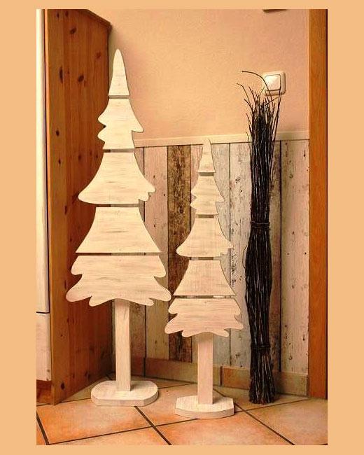елки из фанеры на подставках