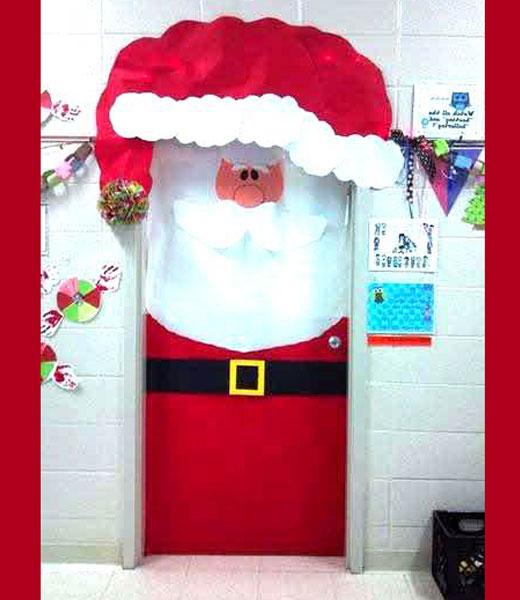 Дед Мороз двери