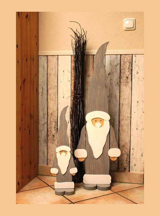 Дед Мороз своими руками из фанеры