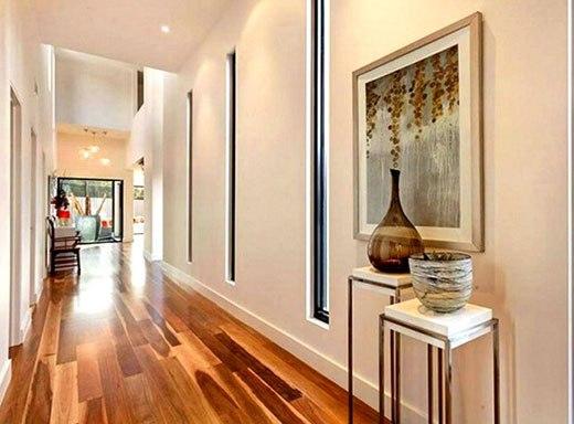 Красивый дизайн коридора