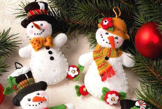 glavnie_snegoviki Снеговик своими руками на Новый год из подручных материалов
