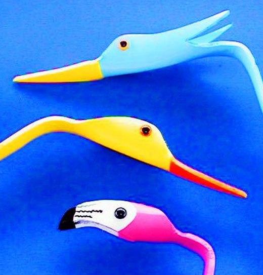 головы птиц