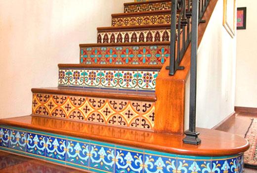 ступени керамические лестница