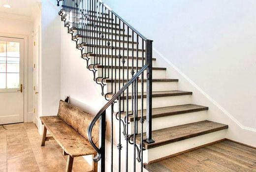 ковка лестница