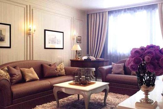 классическая маленькая гостиная