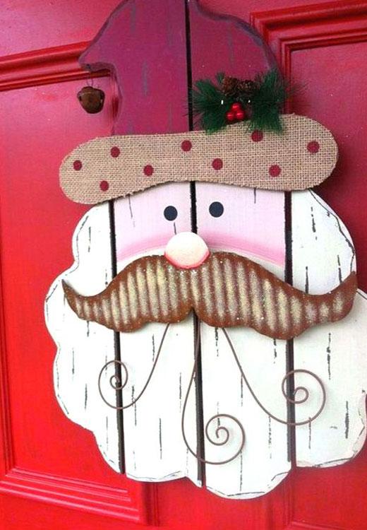 Дед Мороз из планок