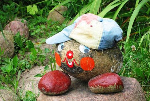 Как сделать садовые украшения своими руками 1