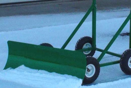 коляска снегоуборщик