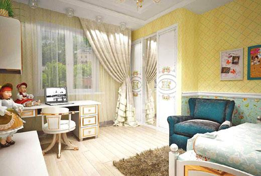 комната в прованском стиле