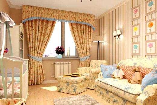 комната для малыша прованс