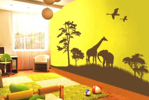 детская комната сафари