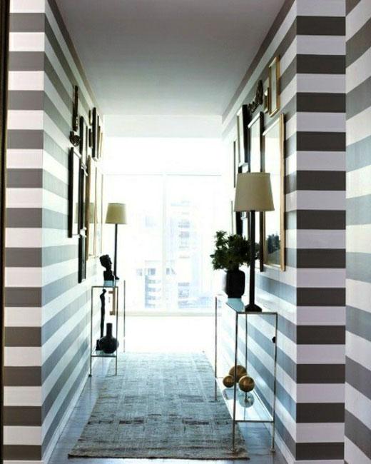 модная отделка коридора