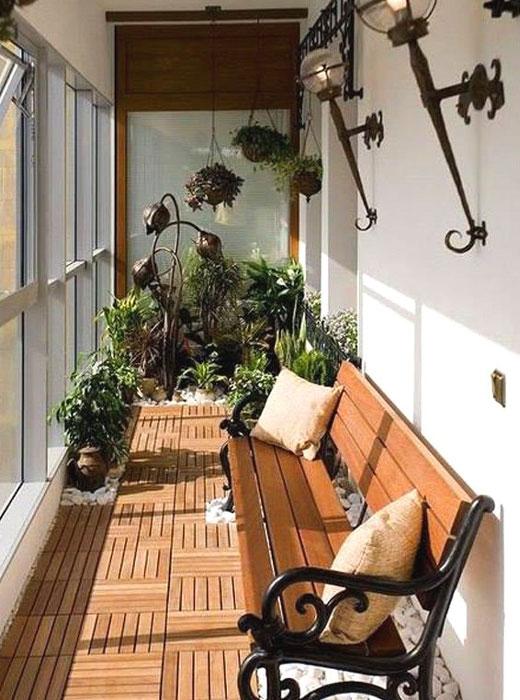 красивый балкон для отдыха