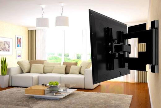 поворотный кронштейн для телевизора