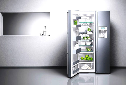 стильный холодильник на кухню